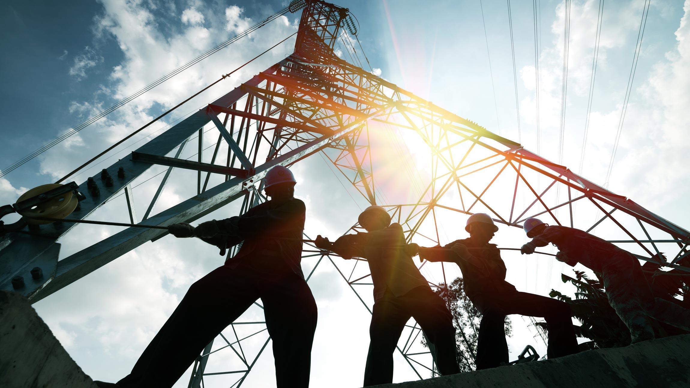 Sähköasemien, voimajohtojen ja tuulivoiman rakentamispalvelut avaimet käteen -projekteina