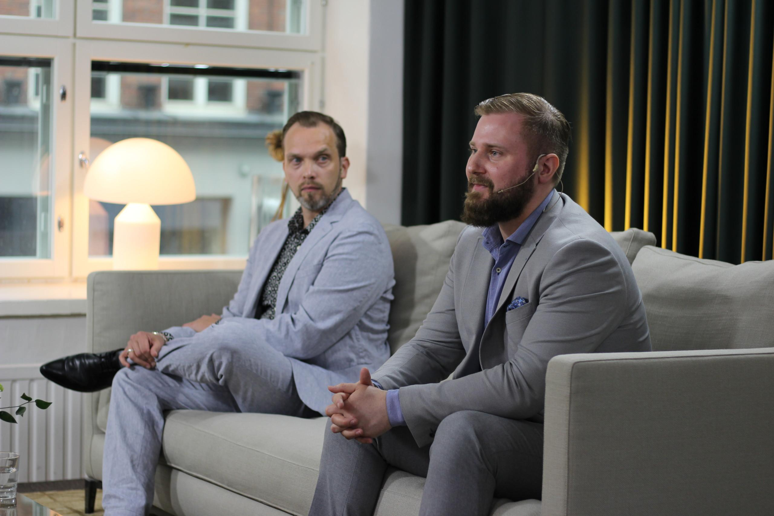 Enersensen Head of Data and Analytics Einari Rännäli Chief of Finance 2021 tapahtumassa